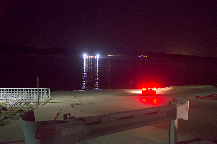 Ohio River Night - Paducah KY